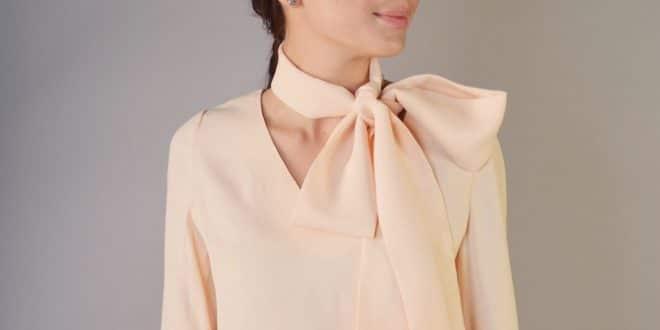 Легкие блузки из шифона
