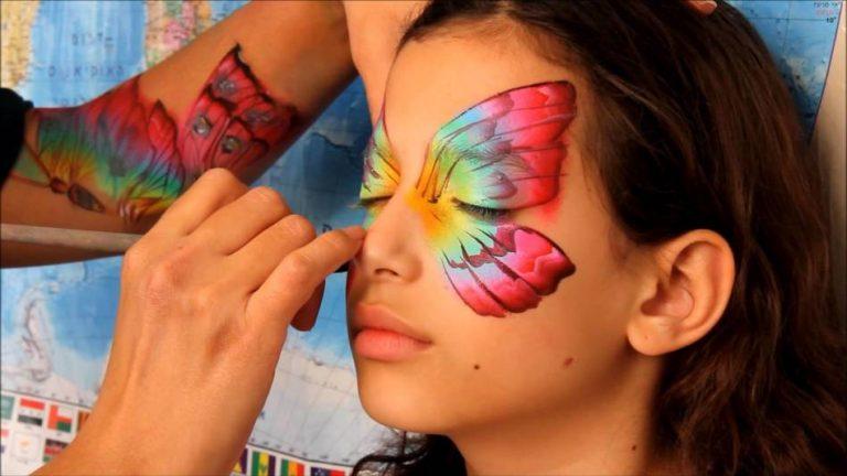 Аквагрим бабочка
