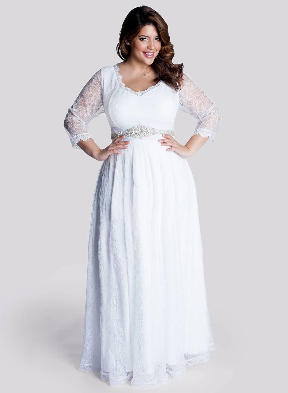 Cute-Plus-Size-Wedding-Dresses
