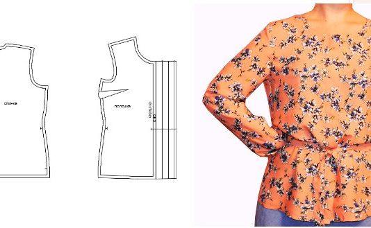 Ochen-prostye-vykrojki-bluzok
