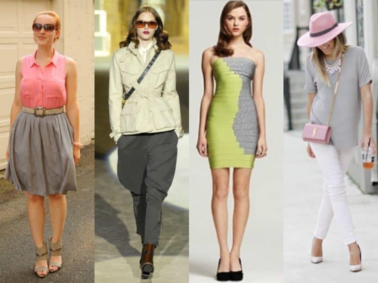 Модные сочетания одежды