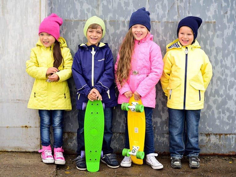 Детская одежда весна/осень, демисезонная