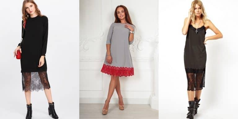 Как удлинить платье: простые и эффективные способы