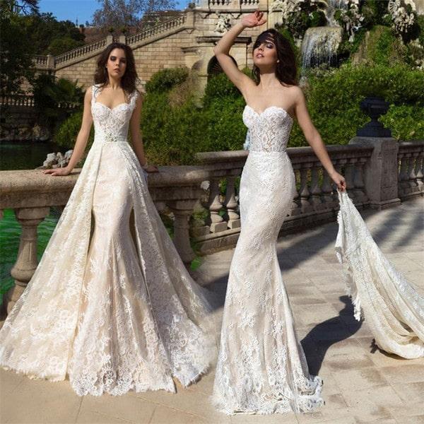 «Русалка» свадебное платье: особенности и рекомендации по выбору