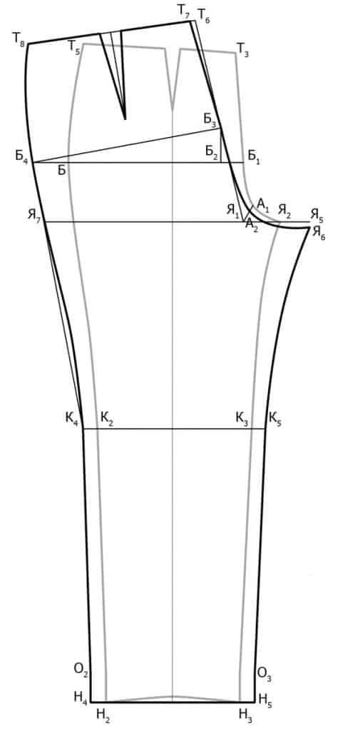 Vykrojka-zadnej-polovinki-klassicheskih-zhenskih-bryuk-474x1024